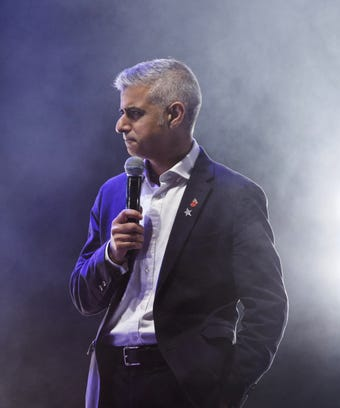 London-Mayor-Sadiq-Khan- Gender -Pay-Gap