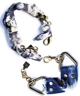 Tom Tom Suede Tie Dye Bracelet