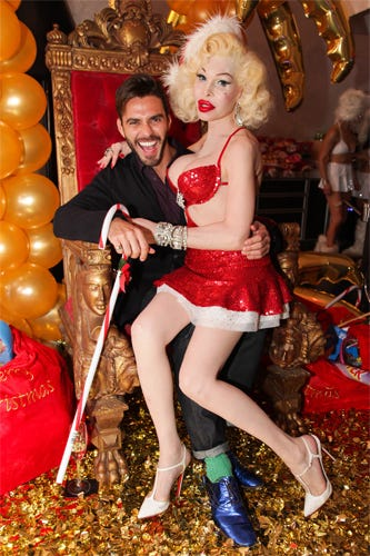 Party Pics NYC-NSFW Snaps From Chandelier Creative\'s Holiday Party