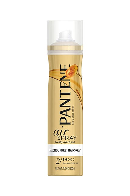 the other secret to hair she claims is lots of pantene prov products which is not at all surprising when you consider that sheu0027s been an