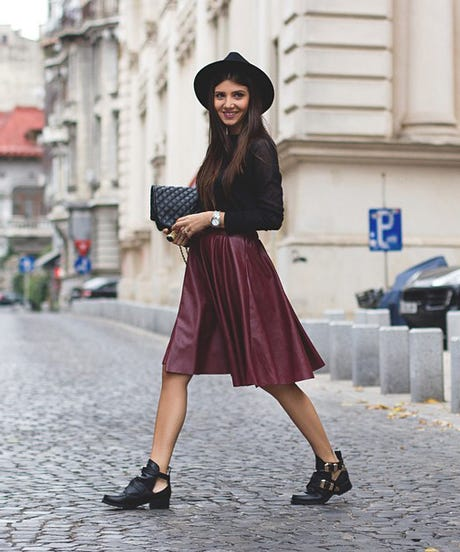 How To Style A Midi Skirt - Instagram Fashion Tips