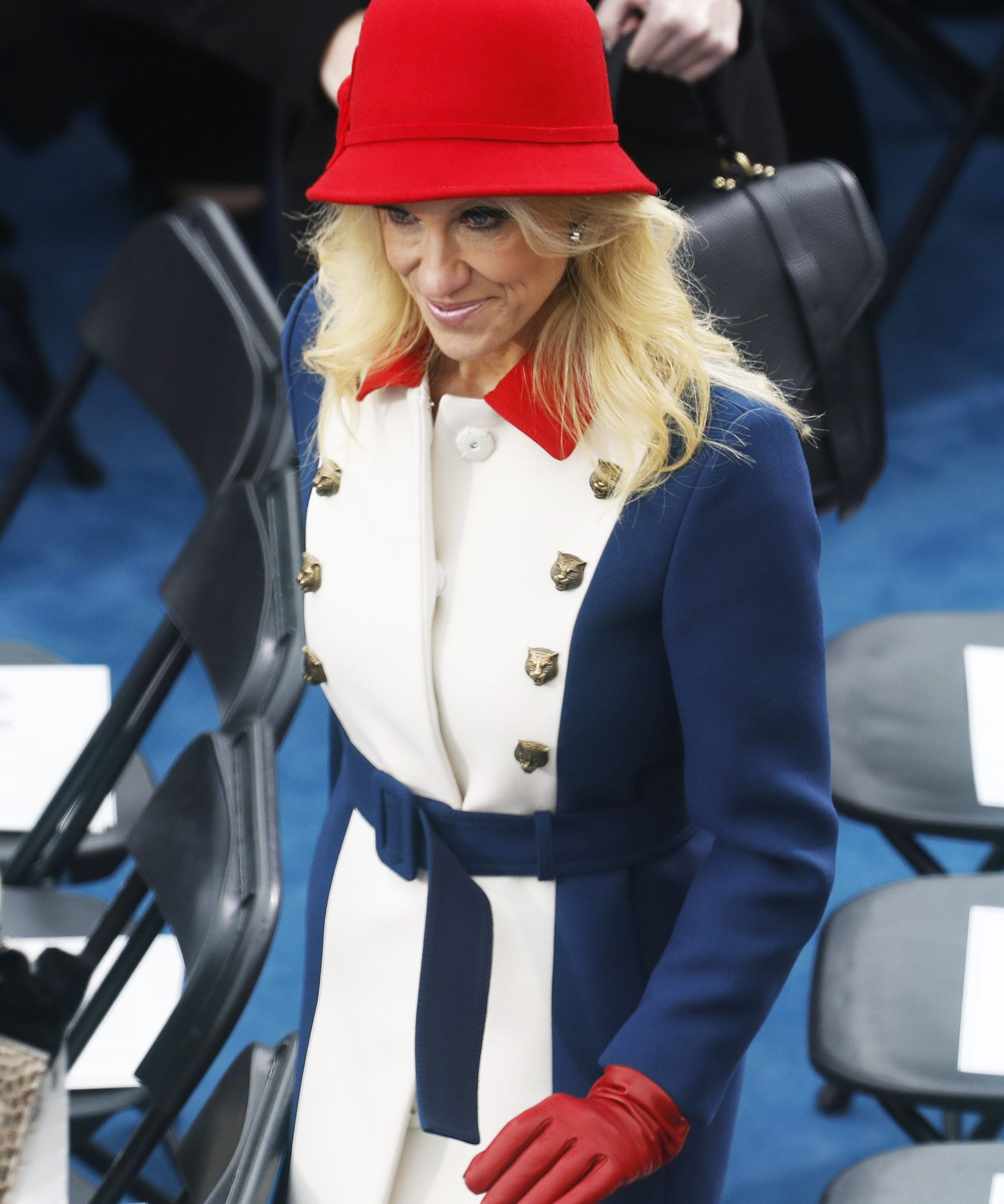 Kellyanne Conway Revolutionary Inauguration Outfit Meme