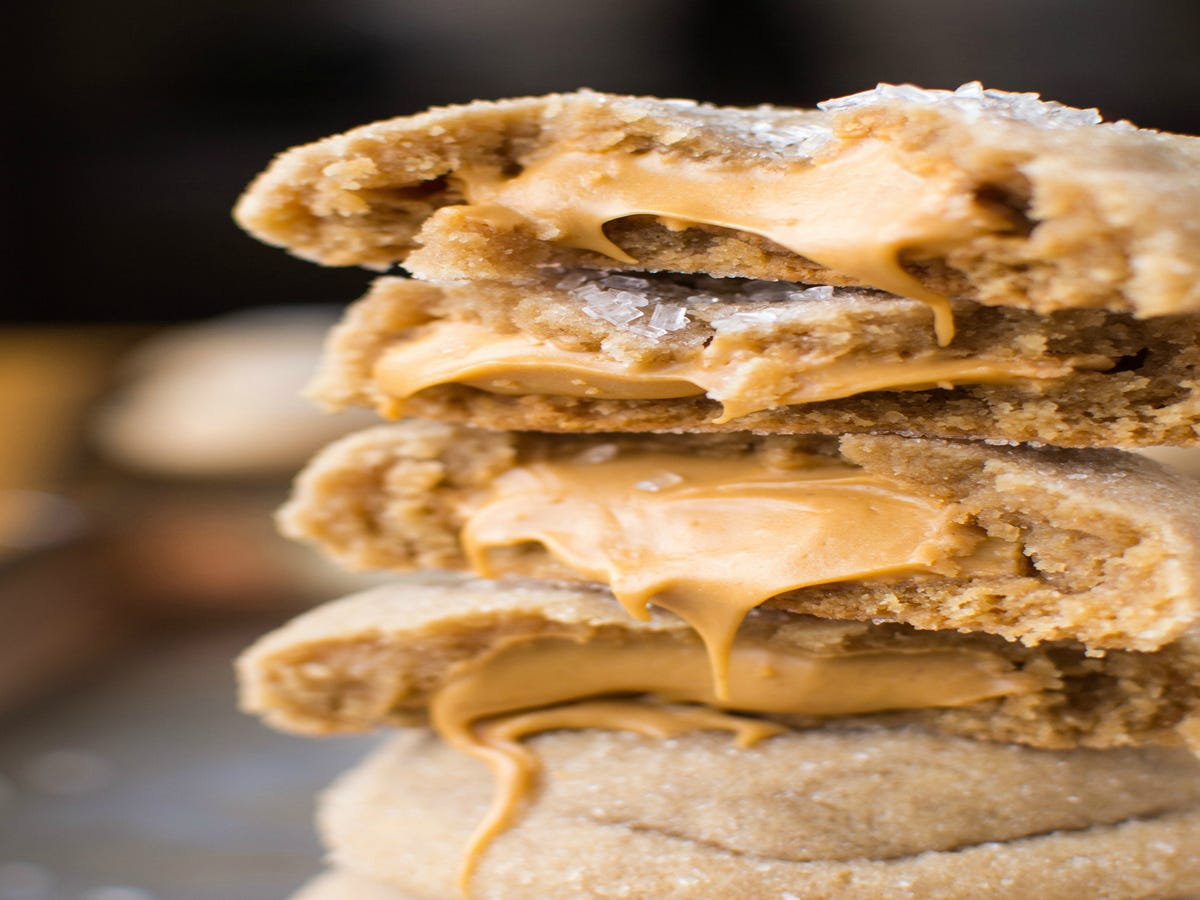 These Peanut Butter Cookies Have Chocolate Chip Beat