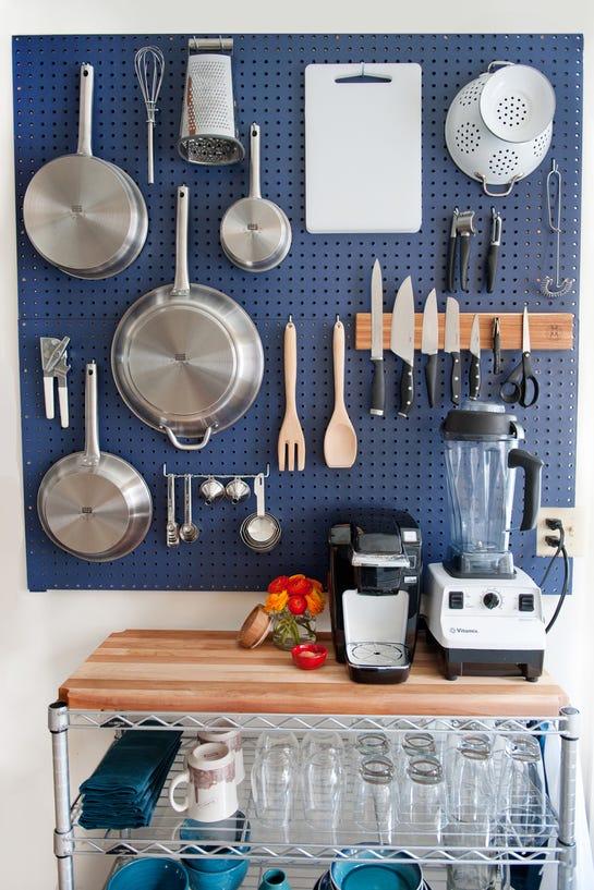 Decoração funcional, casa prática em 3 passos utensílios organizados