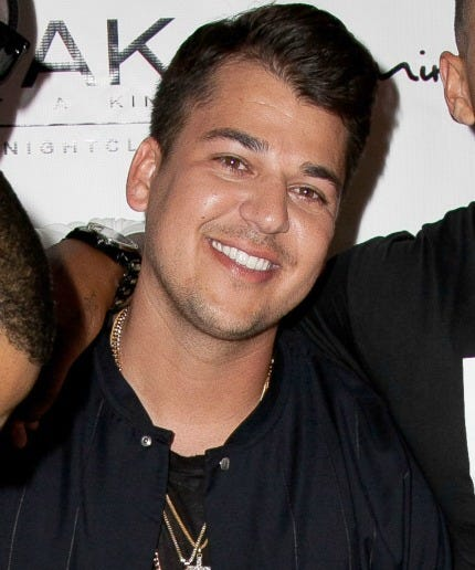 Come Hither, Look, A Grainy New Rob Kardashian Photo~~