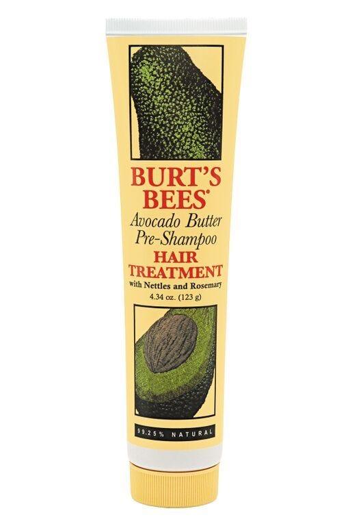 Средство ухода за волосами  Burt's Avocado Butter Pre-Shampoo Hair Treatment
