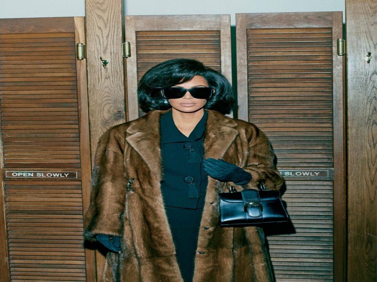 Kim Kardashian Channels Jackie O For Interview Magazine