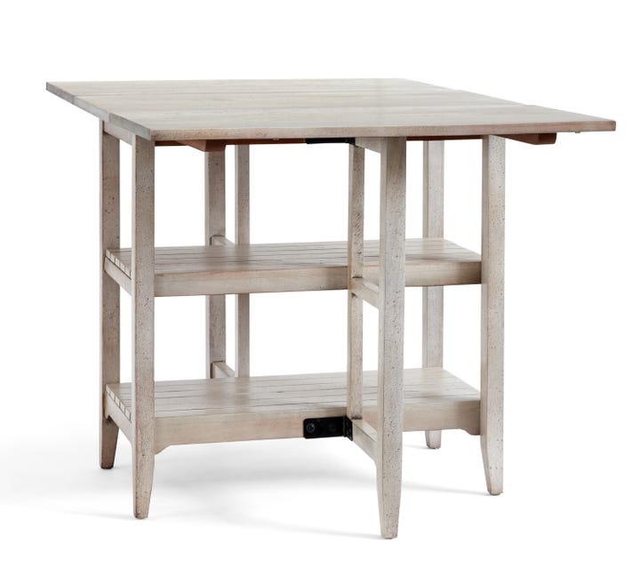 This Table Is Kind Of Like Superman U2014 By Day, Itu0027s To Eat Brunch On, And By  Mid Afternoon, Itu0027s For Writing Your Novella. Pottery Barn Alice ...