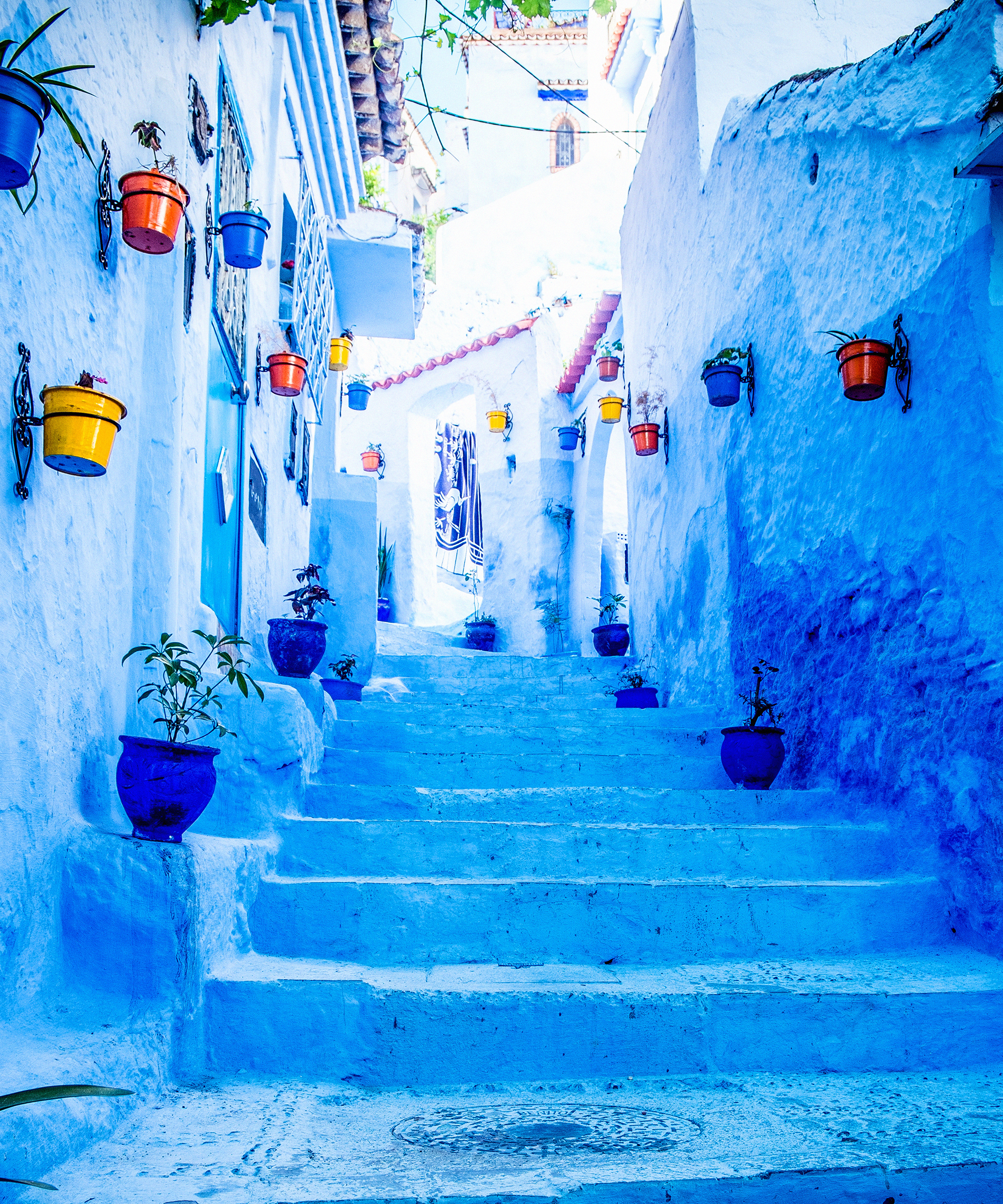 Vacation Cost Chefchaouen Morocco Blue City Trip Price - Old town morocco entirely blue