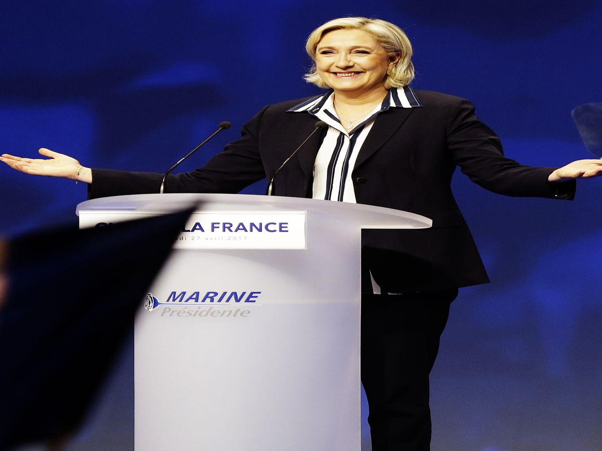 What You Need To Know About Marine Le Pen, France's Far-Right Presidential Candidate