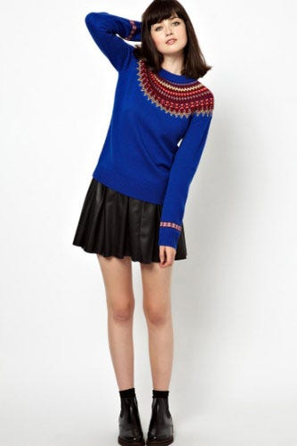 Fair Isle - History And Cool Sweaters Fall 2013
