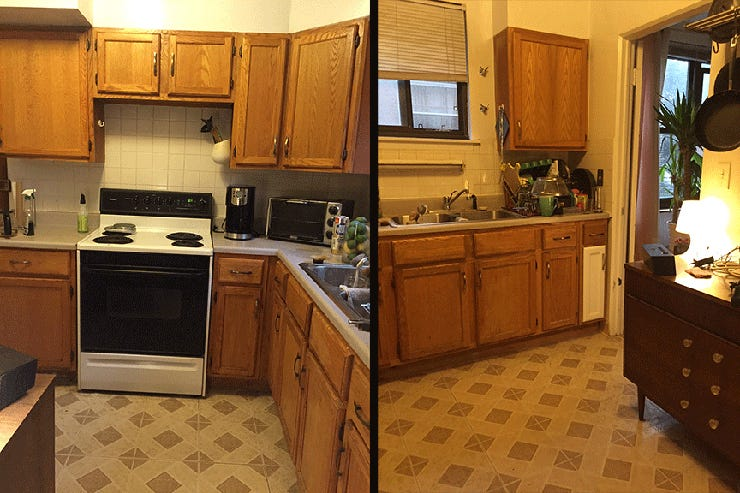 This $100 Kitchen Renovation Is Seriously Impressive