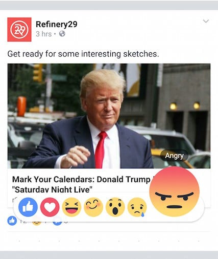 Facebook releases new reaction-based feature