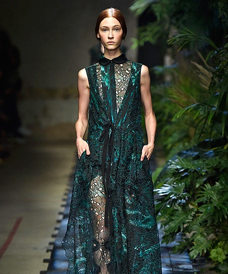 Non white wedding dresses erdem spring 2015 if theres any trend in weddings today its bucking the rules entirely to create a day all your own from how you organize your wedding party to whether junglespirit Gallery
