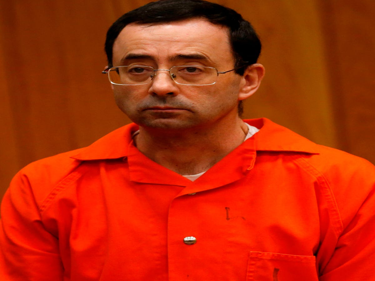 Larry Nassar Abused At Least 40 People After The FBI Opened An Investigation