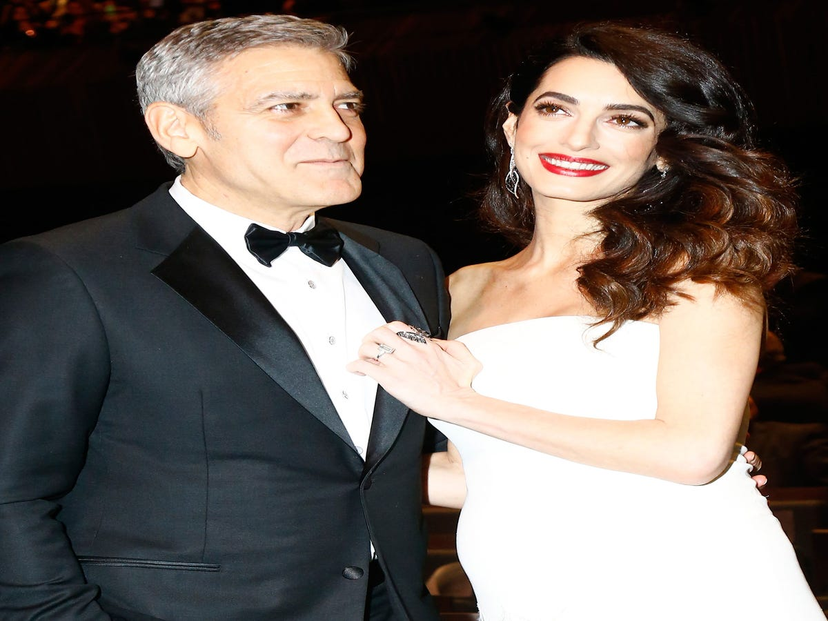George & Amal Introduced Their New Twins To His Parents On Skype