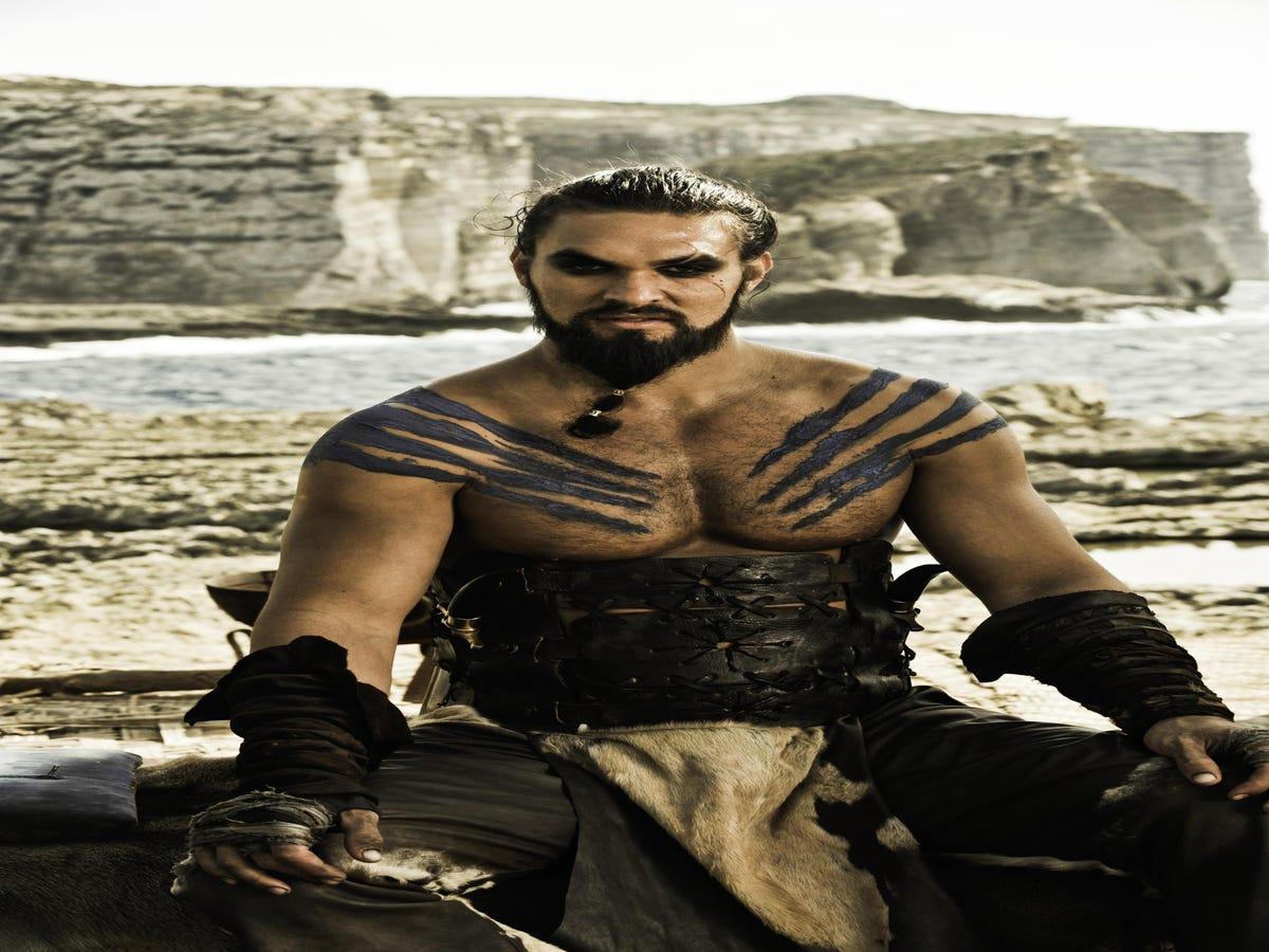 Khal Drogo Is Very Pleased That Daenerys Dumped That  Punk  Daario
