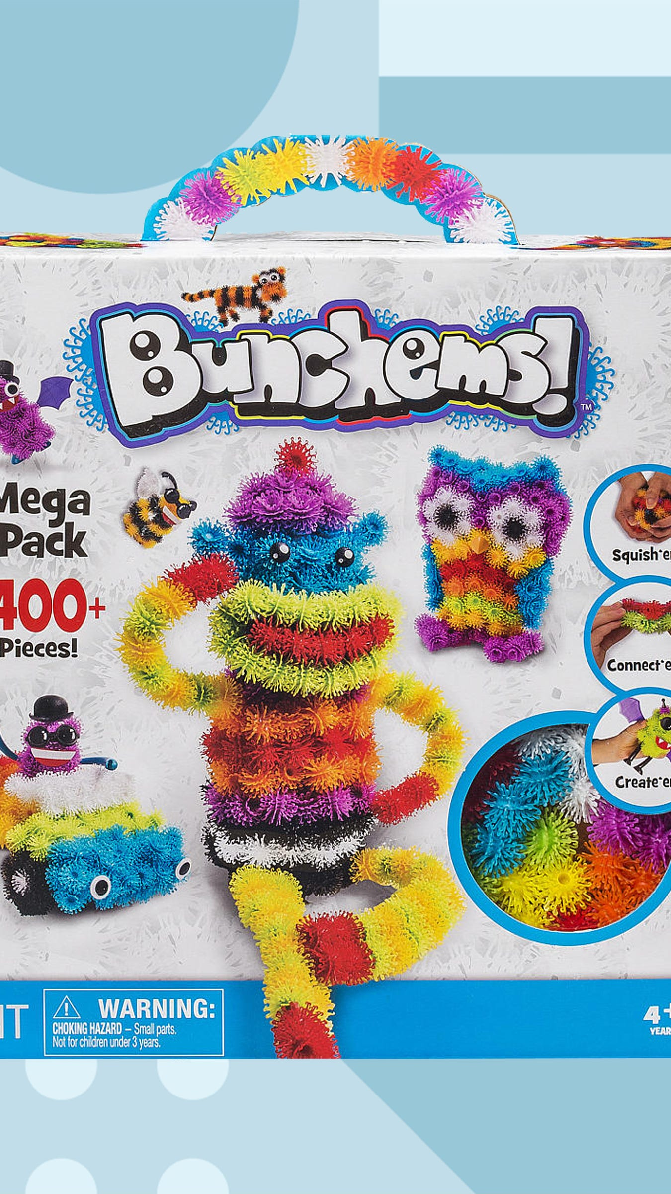 bunchems stuck in hair childrens toy reviews
