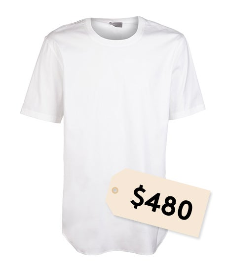 Kanye Shirt A.P.C. Collaboration - Expensive White Tee