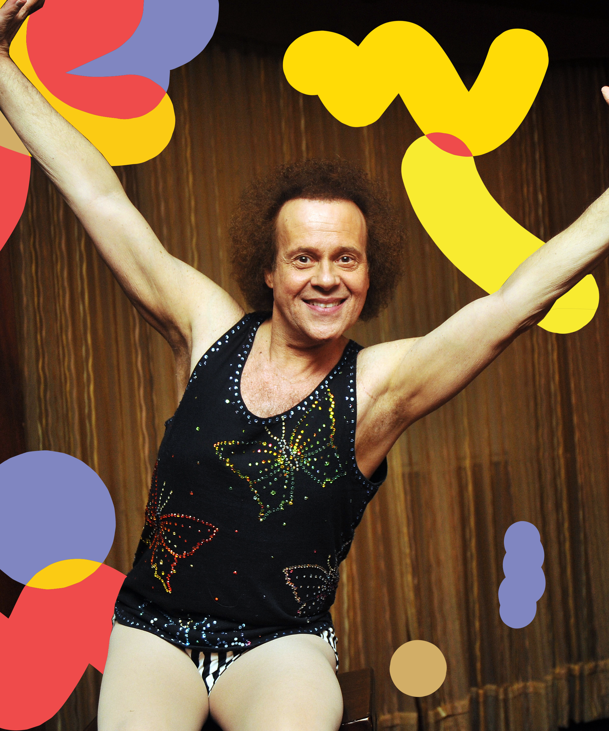 The LAPD Paid Richard Simmons a Visit to See If He's Okay