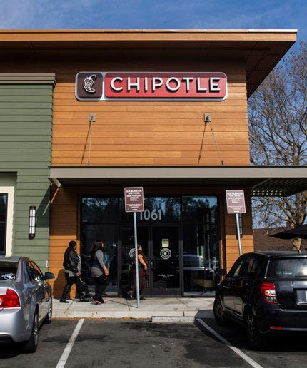 Chipotle says sales recovering, but down 26 per cent in February