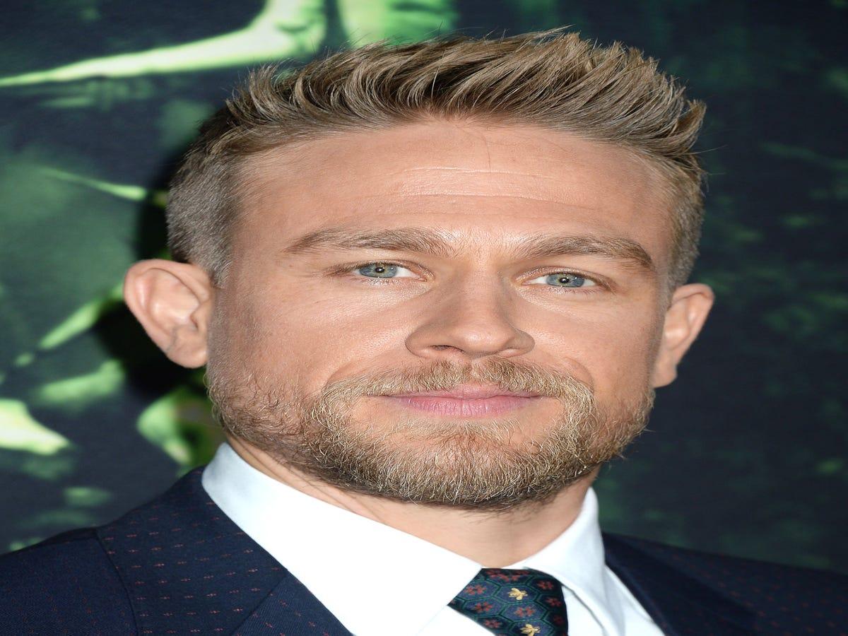 Charlie Hunnam Has A Crush On David Beckham, Is Human