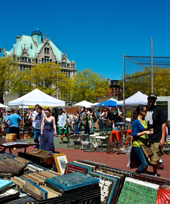 The Top NYC Flea Markets For Buried Treasures