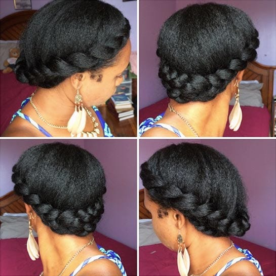 Outstanding Easy Natural Hairstyles For Transitioning Hair Short Hairstyles Gunalazisus
