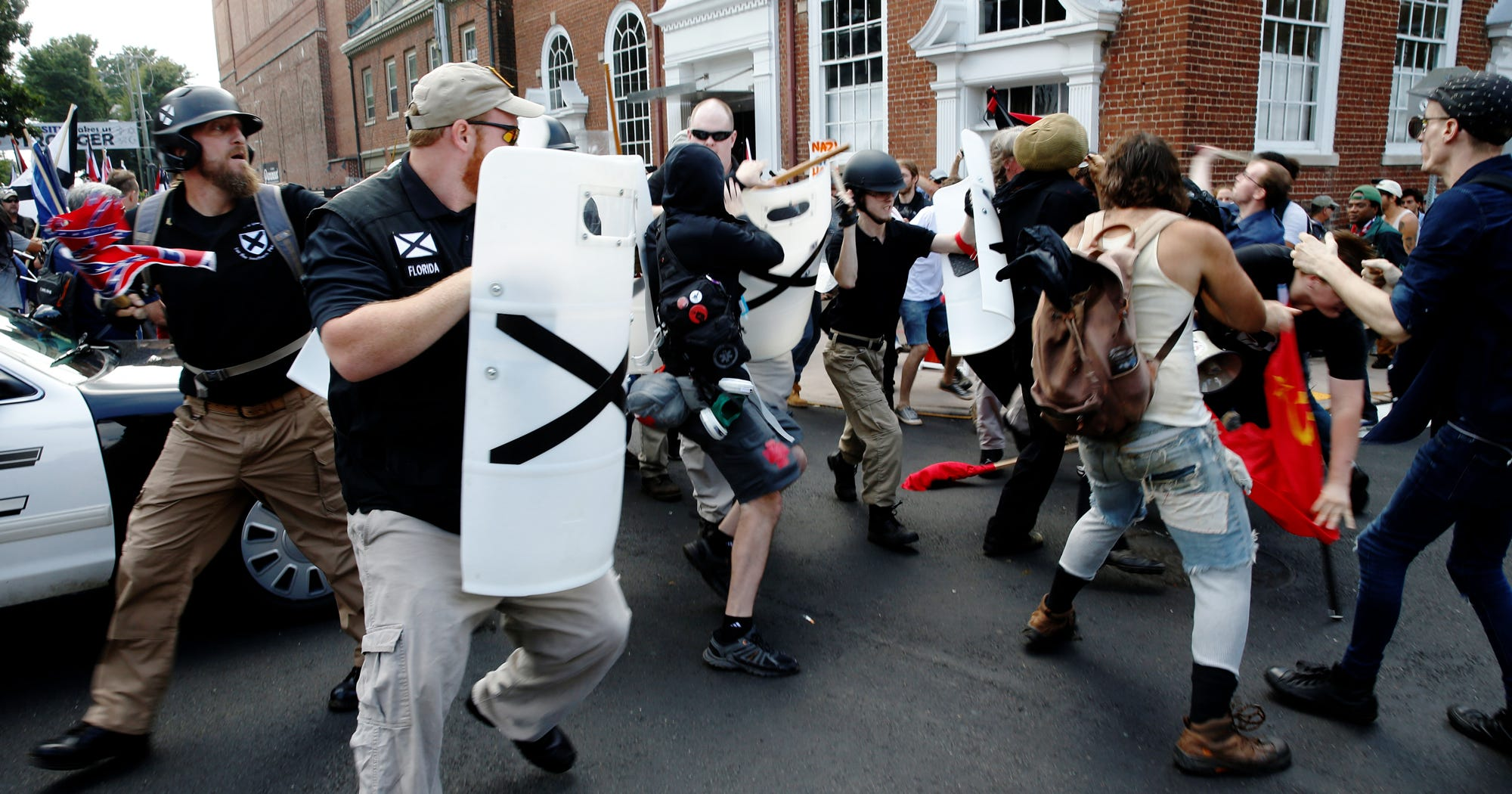 State Of Emergency Declared, Protesters Ordered To Evacuate Charlottesville Park After Violent Clashes