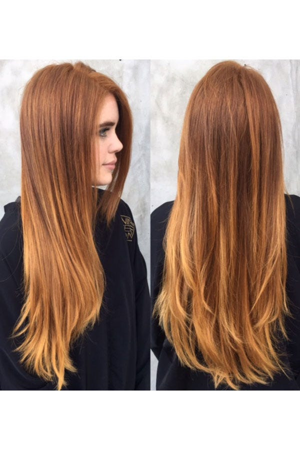 Bronze Copper Tones Fall Winter Shades Hair Ideas