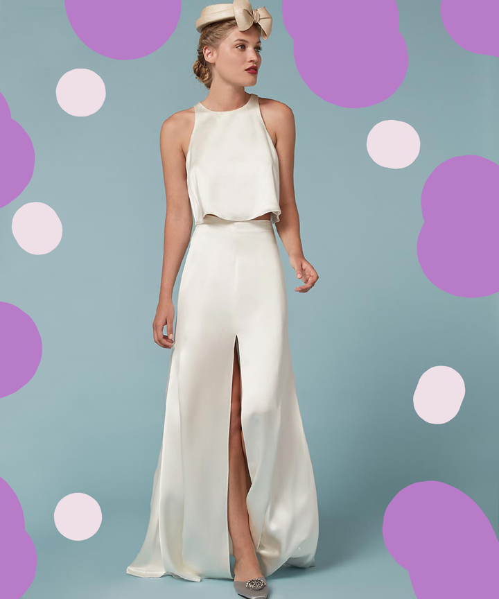Non Traditional Alternative Wedding Dresses