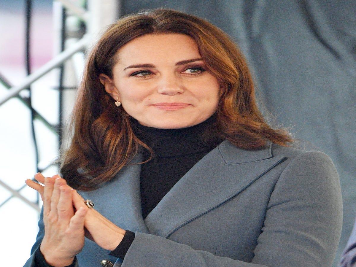 The Real Reason You Won't See Kate Middleton Wearing Nail Polish