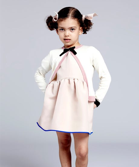 The Models Or The Dresses: Which Are Cuter In Roksanda's Kids Collection?