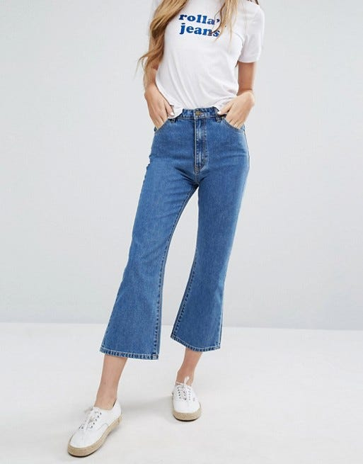 Best Cropped Flare Jeans - Fashion Trend 2016