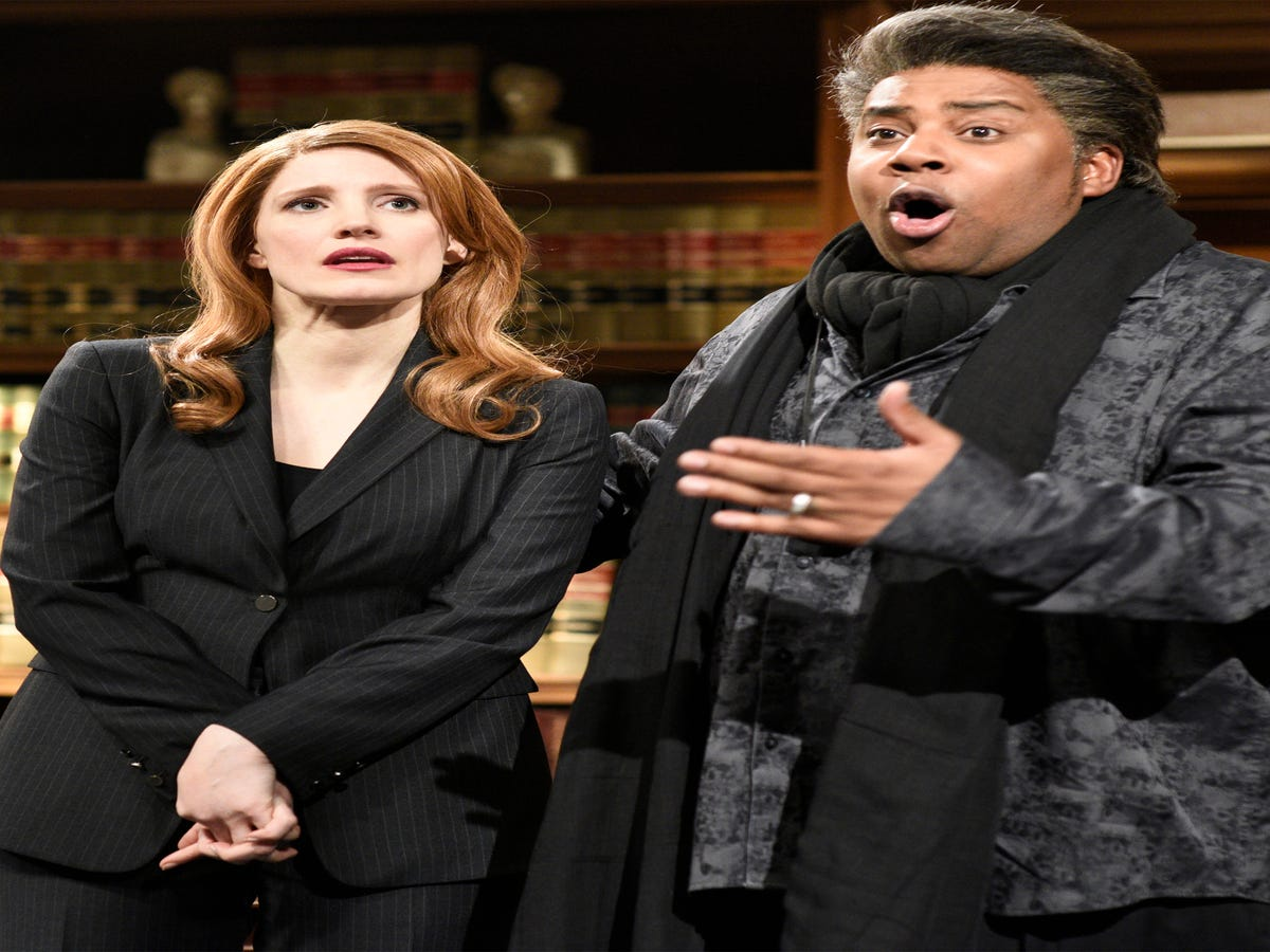 Jessica Chastain Tapped In To All Our Anxieties On SNL