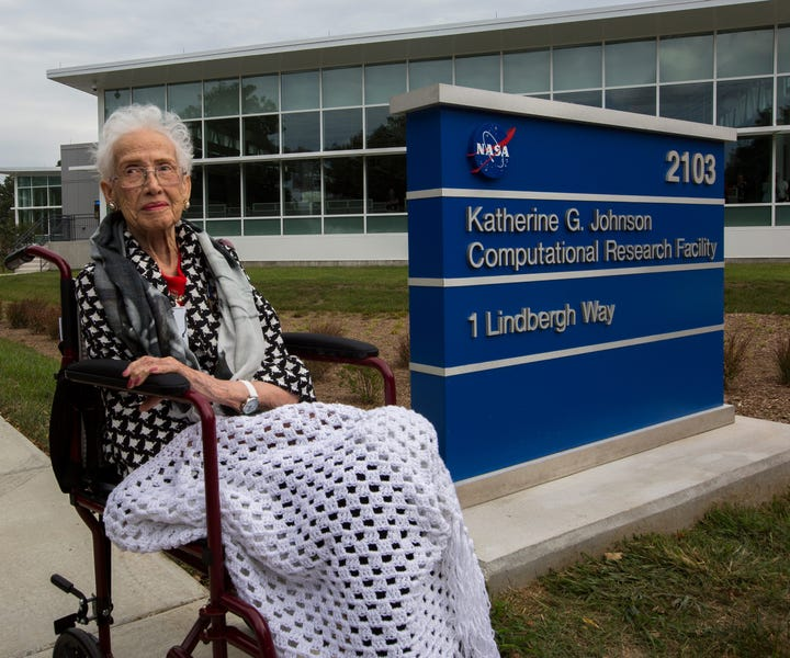 NASA Dedicates a Research Facility to Its Honored Mathematician Katherine Johnson
