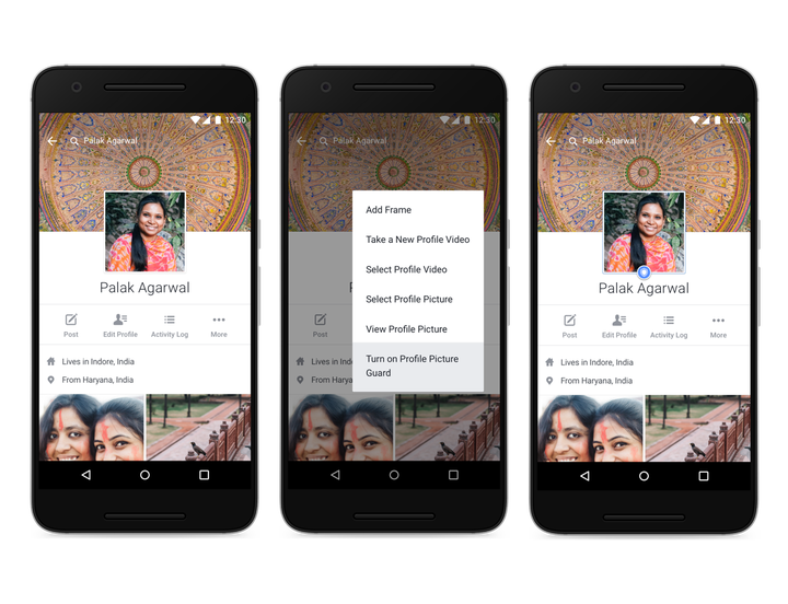 Facebook's new tools for India to protect profile pictures