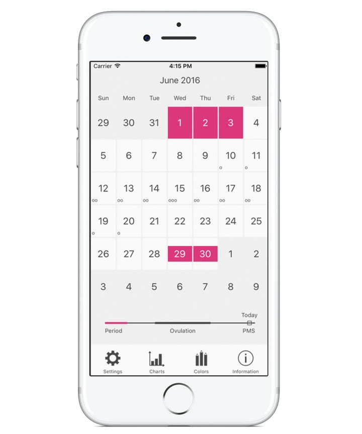 Best Period Tracker App - Menstruation Calendar