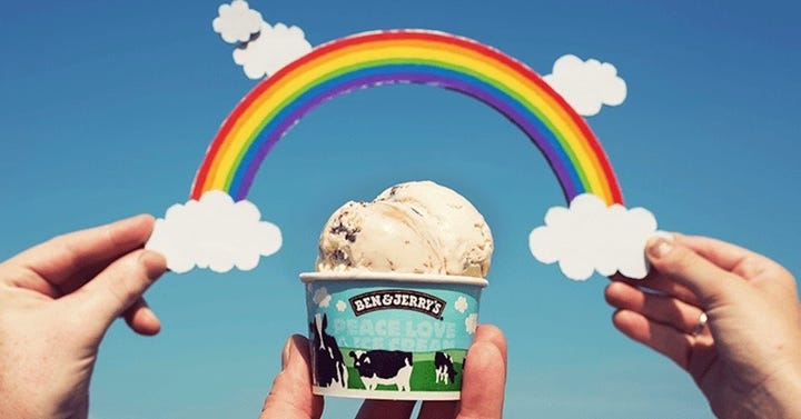 Kein Eis ohne Homoehe: