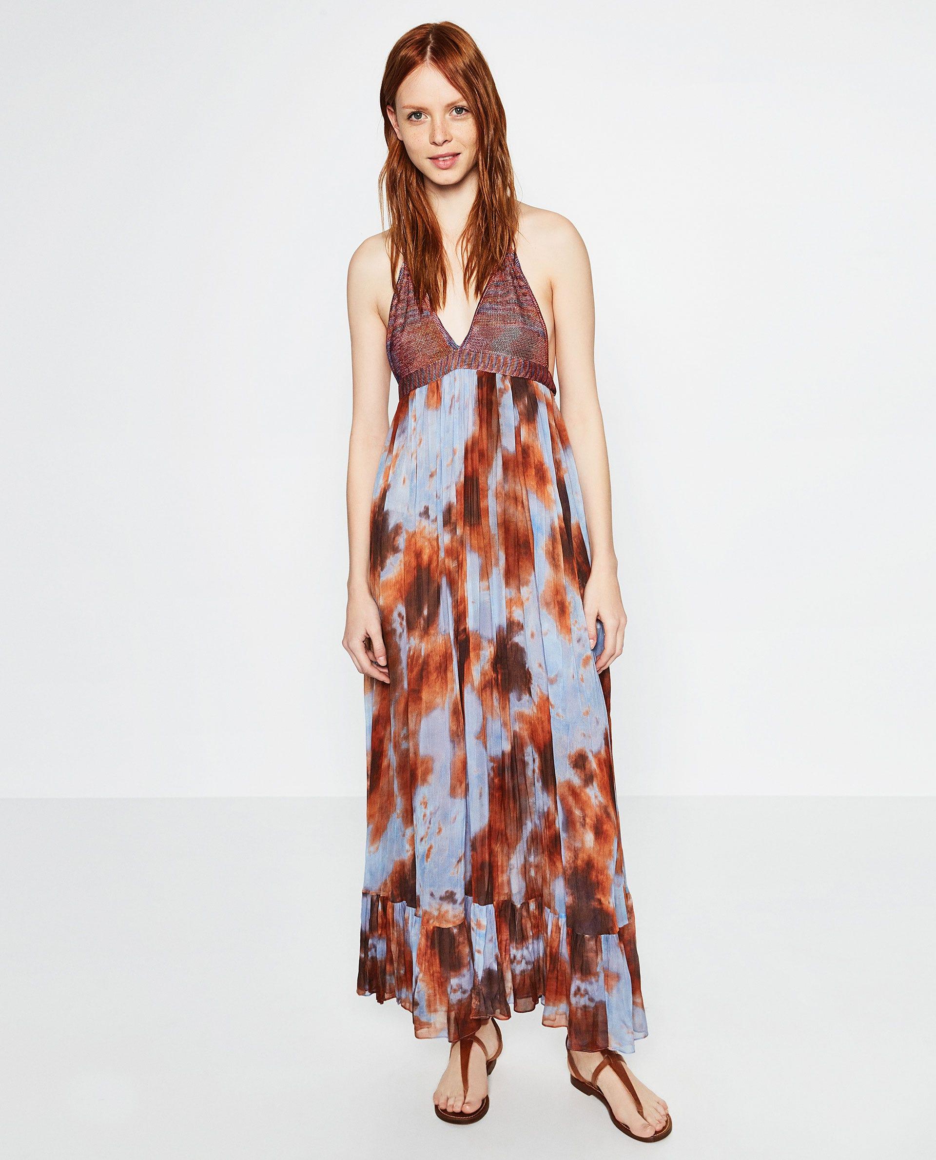 Tie Dye Dress 2018