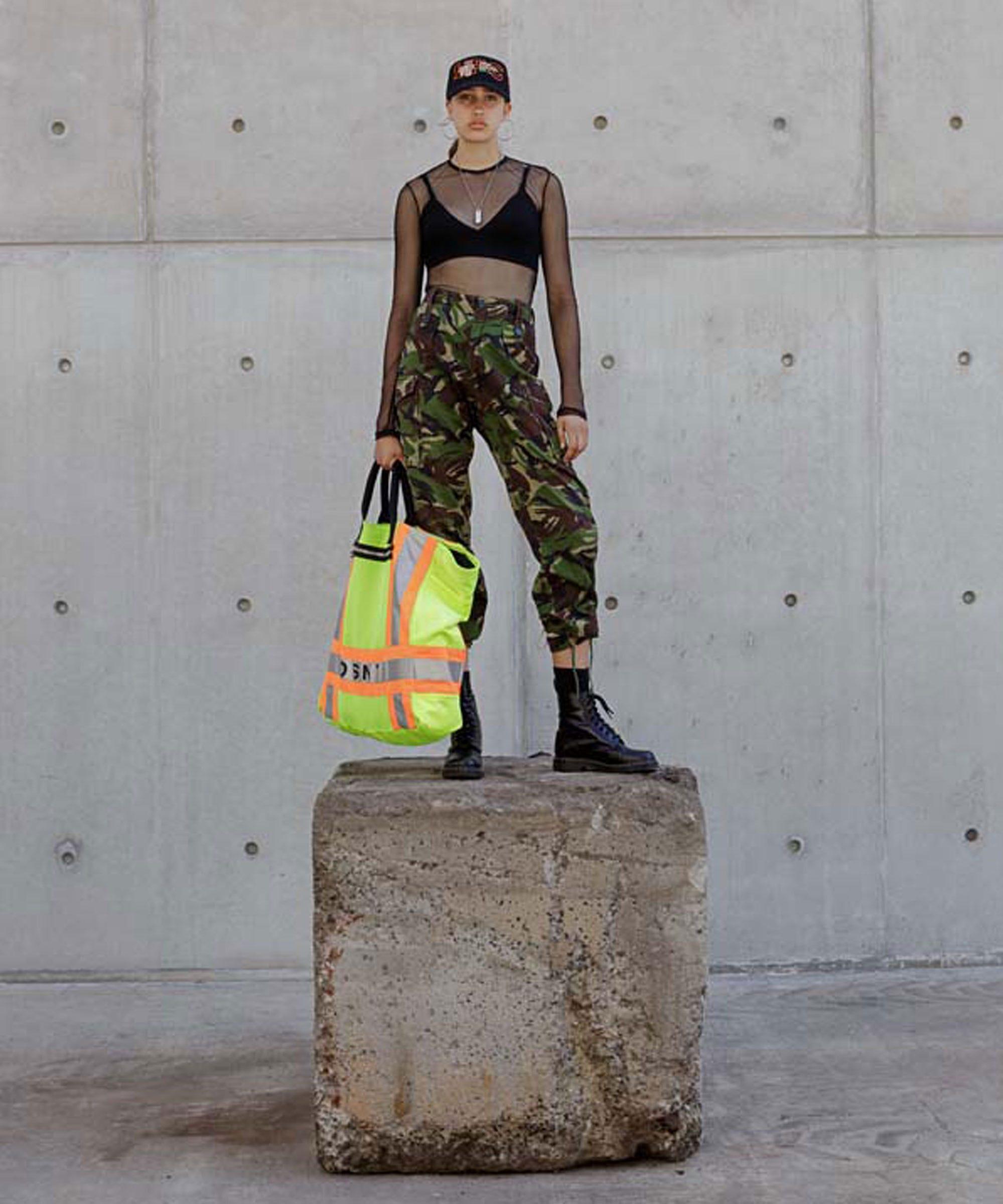 Image result for sanitation garbage fashion new york