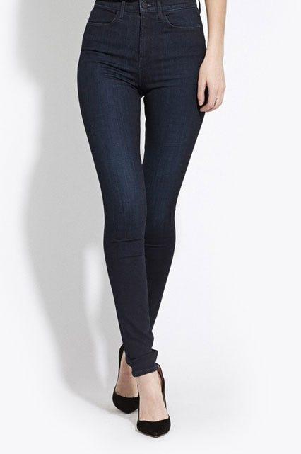 High Waisted Jeans - High Waist Jeans Styles
