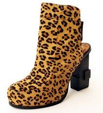 JC for Acrimony Leopard Bootie