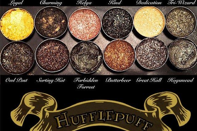 harry potter eyeshadow palette