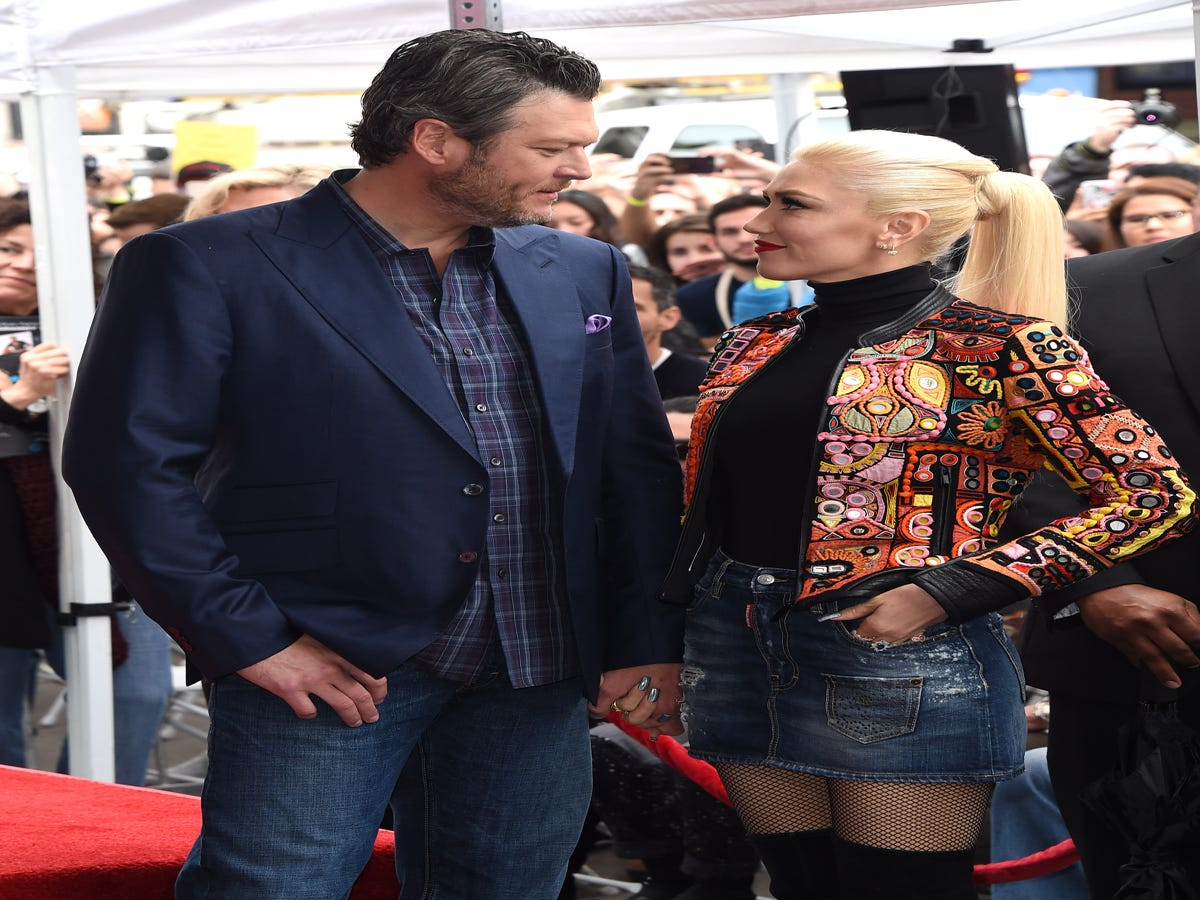 Gwen Stefani's Gone Country For Blake Shelton's Birthday Party
