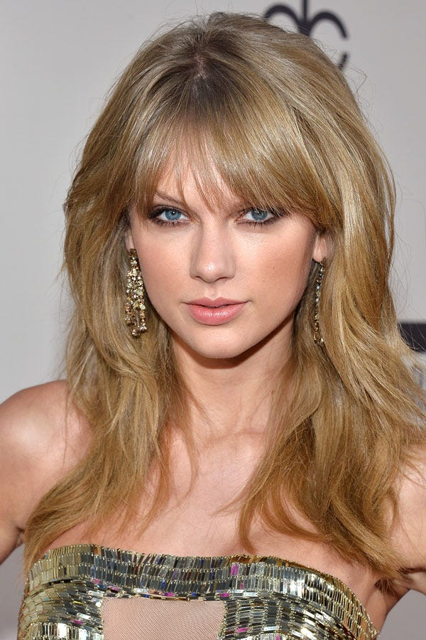 Taylor swift hair short long hairstyles best looks photo frederic j browngetty images urmus Images