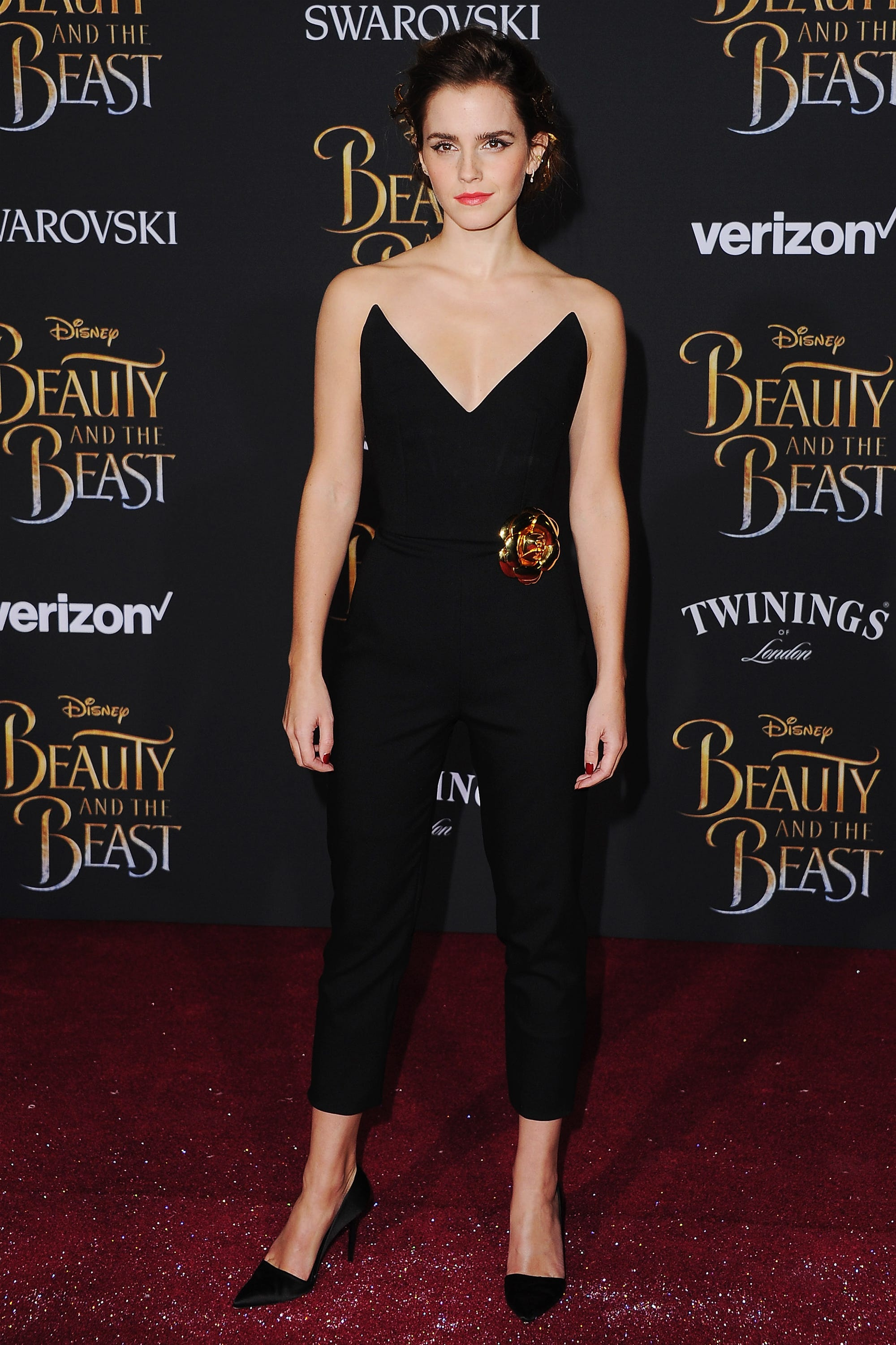 Emma Watson Beauty And The Beast Red Carpet Dresses