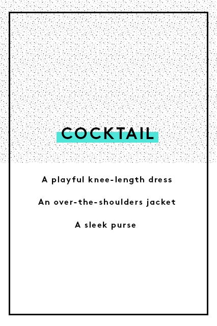 Guide to wedding guest dress attire the invite says cocktail or semiformal stopboris Gallery
