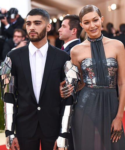 Zayn Malik Joins Girlfriend Gigi Hadid at NYFW After Canceling Dubai Concert