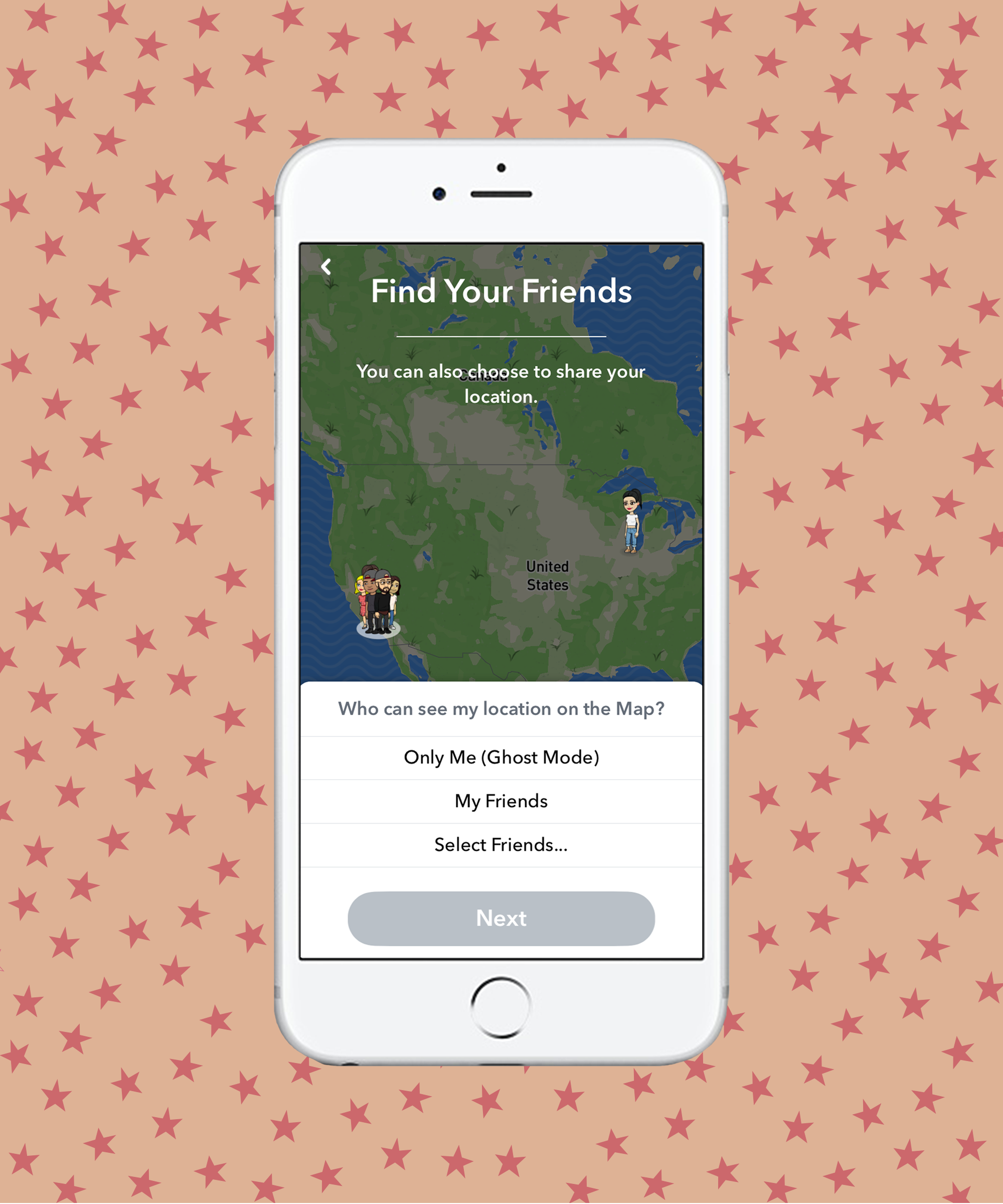 How To Use Snapchat Snap Map Find Friends Ghost Mode